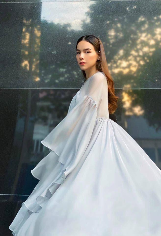 Giữa tin đồn bầu bí, Hồ Ngọc Hà còn vướng nghi vấn mặc váy nhái Taobao-1