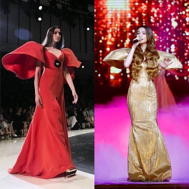 Giữa tin đồn bầu bí, Hồ Ngọc Hà còn vướng nghi vấn mặc váy nhái Taobao-8