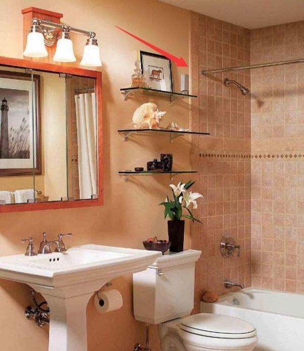 Người thông minh thiết kế phòng tắm có thanh ngang này, bạn biết tại sao không?-1