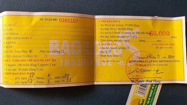 Để được hưởng bảo hiểm xe máy, phải chuẩn bị những giấy tờ gì?-2