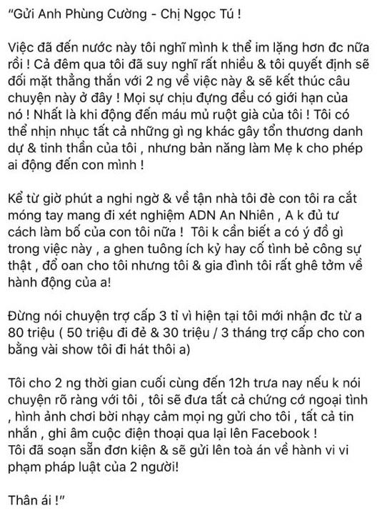 Xôn xao thông tin nam diễn viên Ma Làng bị vợ tố ngoại tình trong thời gian cô sinh con?-2