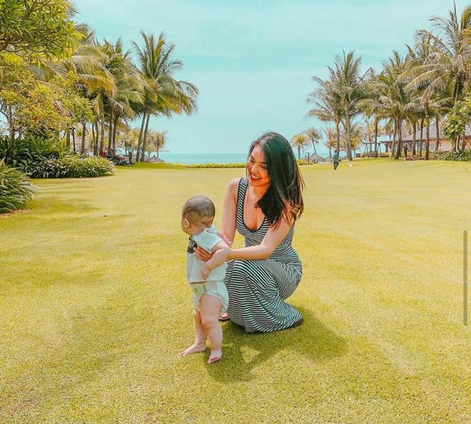Vóc dáng gợi cảm của Lan Khuê sau 6 tháng sinh con-5