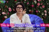 Trang Trần chỉ tay, 'cãi' tay đôi với Tiến sĩ Lê Thẩm Dương