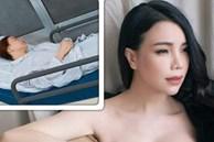 Trà Ngọc Hằng bị tai nạn gãy răng, phải ghép xương nhân tạo: 'Tỉnh dậy là em òa khóc'