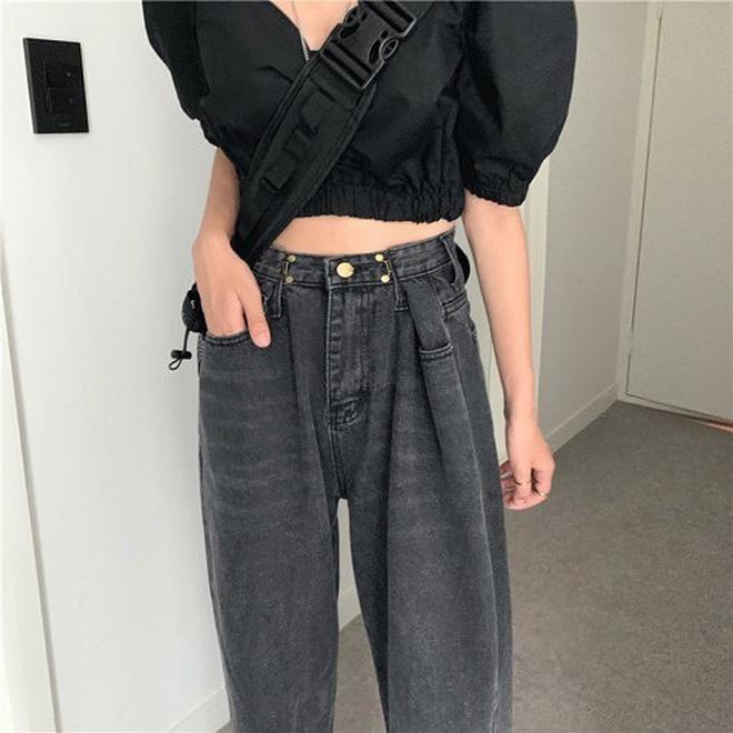 """Có một kiểu quần jeans sao Việt phát cuồng"""" mới đây nhưng Rosé thì đã diện suốt từ năm ngoái mới tài-12"""