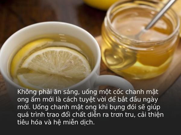 Uống 1 cốc chanh mật ong sau khi ngủ dậy rất tốt nhưng nên uống trước hay sau khi ăn sáng mới THỰC SỰ đại bổ?-1