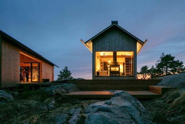 Ngắm nhà gỗ tuyệt đẹp nằm giữa đảo, bốn bề đều nghe tiếng sóng biển-7