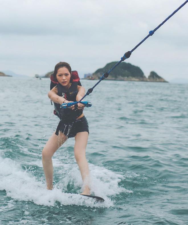 Hoa hậu Hong Kong hẹn hò thiếu gia sòng bạc Macau: Gia thế khủng và gợi cảm cỡ nào?-14