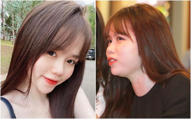 Bạn gái Quang Hải cũng không thoát khỏi cán cân ảnh trên mạng - ngoài đời: Bạn thích bên nào hơn?-2