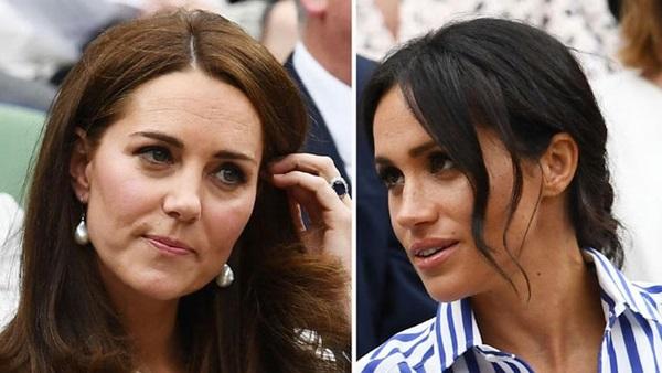 Công nương Kate tức giận vì sự ích kỷ của em dâu Meghan Markle đối với hoàng gia Anh khiến cô kiệt sức và bị mắc kẹt-3