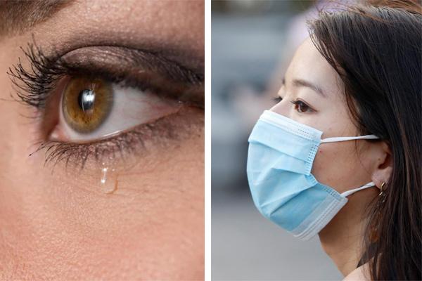 Triệu chứng mới của Covid-19 bộc lộ qua hiện tượng lạ của nước mắt-1