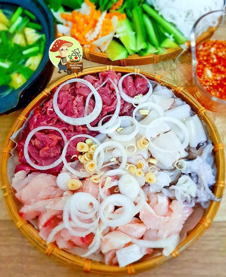 Chỉ nấu cơm 2 bữa/tuần, lại thích bày món ăn lên mẹt, 9X khiến chồng tăng cân đều mỗi tháng-5