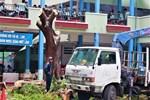 Chặt cây phượng còn lại trong tai nạn khiến học sinh tử vong