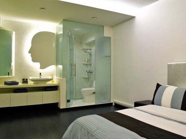Thấy khách sạn hay để kính nhà vệ sinh trong suốt, về làm theo và kết quả bất ngờ-3