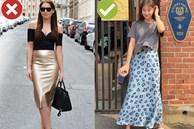 4 lỗi diện chân váy không dìm dáng thì cũng biến các chị thành cô nàng 'kém duyên' từ công sở ra phố