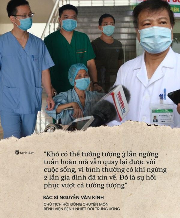 Kỳ tích 80 ngày từ dọa tử vong đến hồi sinh của BN19 qua lời kể từ đội ngũ y bác sĩ: Chúng tôi như đứng trên cầu thăng bằng-2