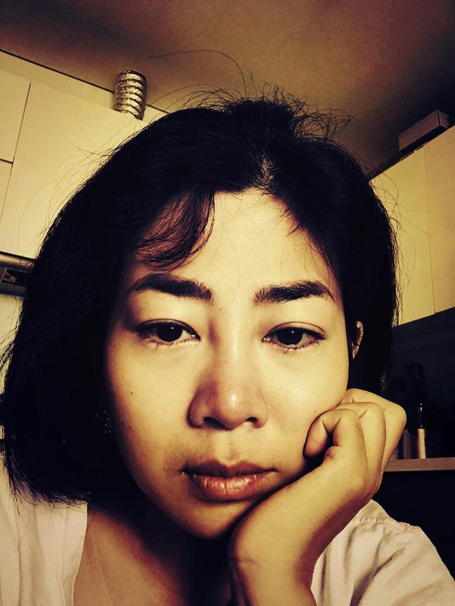 Xót xa hình ảnh 2 tháng trước của Mai Phương, đôi mắt ngấn lệ nhìn mà quặn lòng-1