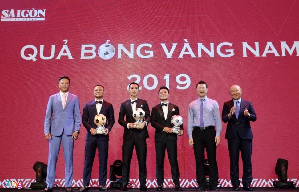 Tiền đạo Việt Nam ở đâu trong đêm trao Quả bóng vàng 2019?-1