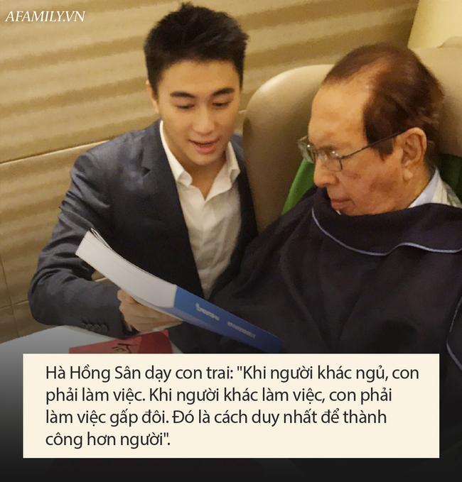 Chỉ 1 câu nói nhưng là bài học khắc cốt ghi tâm giúp con trai ông trùm sòng bạc Macao Hà Hồng Sân thành công hơn người-2