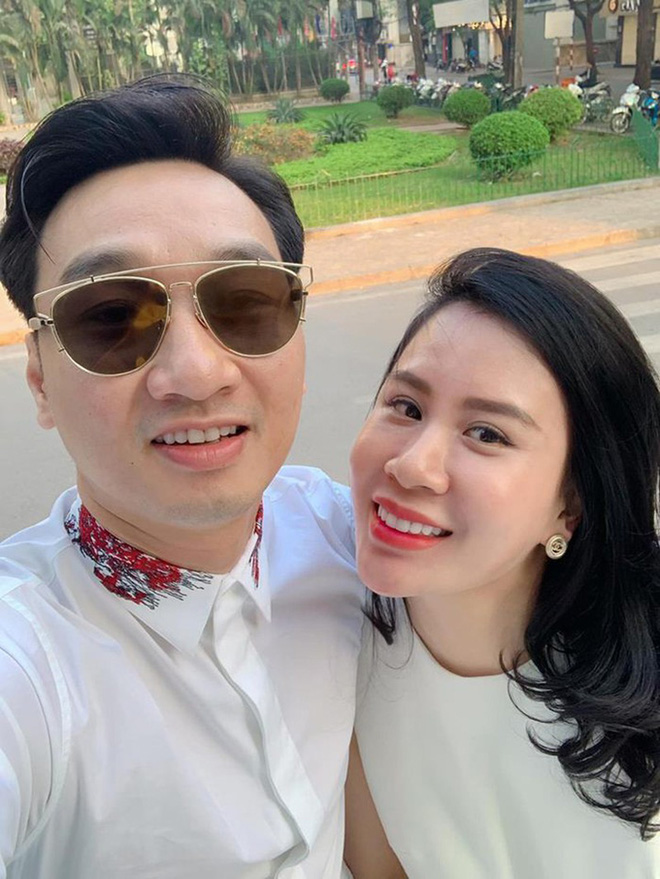 Sắc vóc vợ hai kém 8 tuổi của MC Thành Trung sau khi sinh đôi-1