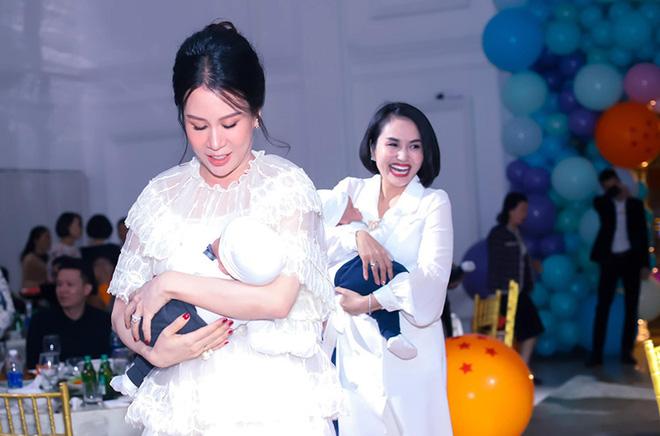 Sắc vóc vợ hai kém 8 tuổi của MC Thành Trung sau khi sinh đôi-3