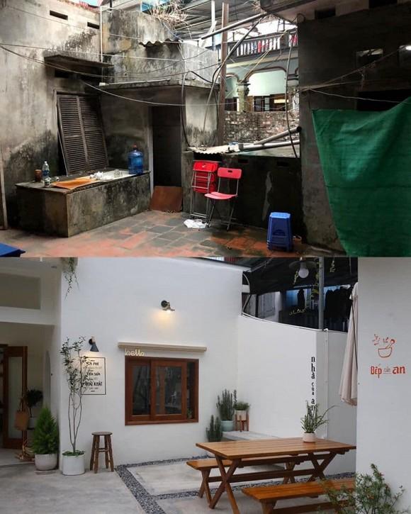 Được bố mẹ cho nhà bỏ hoang 10 năm, đôi vợ chồng trẻ tân trang thành quán cà phê nhỏ xinh-5