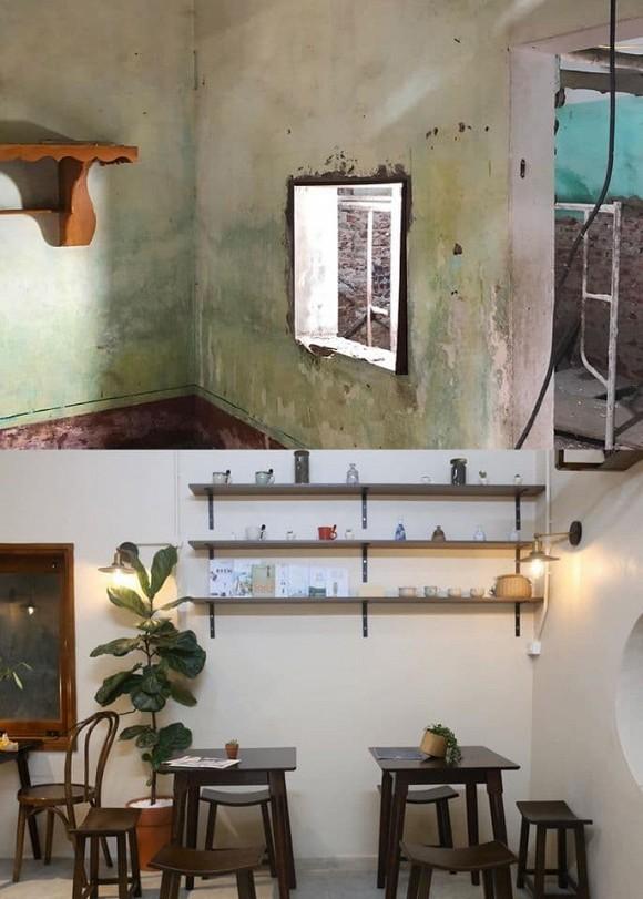 Được bố mẹ cho nhà bỏ hoang 10 năm, đôi vợ chồng trẻ tân trang thành quán cà phê nhỏ xinh-6