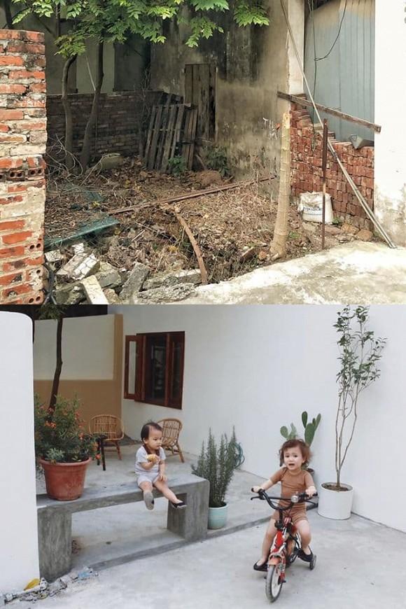 Được bố mẹ cho nhà bỏ hoang 10 năm, đôi vợ chồng trẻ tân trang thành quán cà phê nhỏ xinh-10