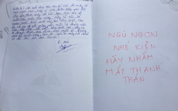 Quặn lòng những cánh thư bạn cùng lớp viết gửi nam sinh vừa ra đi vì cây phượng đổ: Tao có vẽ hộp cơm cho mày đấy-6