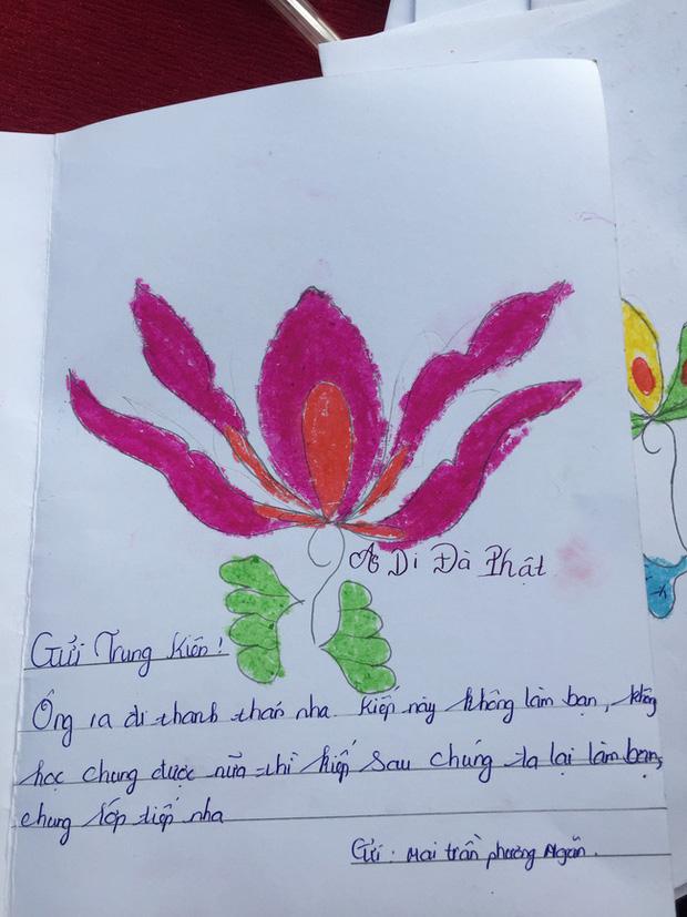 Quặn lòng những cánh thư bạn cùng lớp viết gửi nam sinh vừa ra đi vì cây phượng đổ: Tao có vẽ hộp cơm cho mày đấy-7