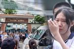 Trời lất phất mưa trong 'buổi đến trường cuối cùng' của cậu học sinh lớp 6, hàng trăm người xót xa tiễn em về cõi vĩnh hằng