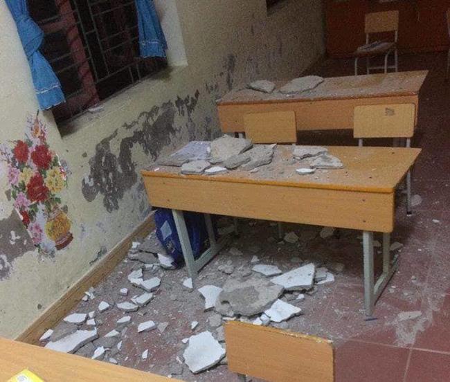 Giật mình với hàng loạt tai nạn học đường xuất phát từ những hiểm họa hiện hữu ngay trong trường lớp-4
