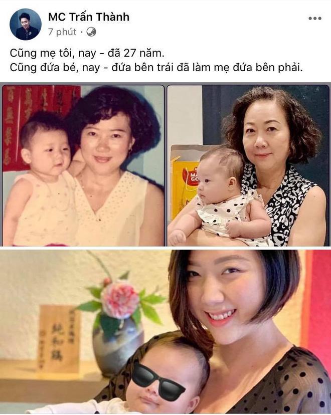 Khoảnh khắc hiếm hoi ngày ấy - bây giờ của gia đình Trấn Thành: Điều thay đổi sau gần 3 thập kỷ gây xúc động!-1