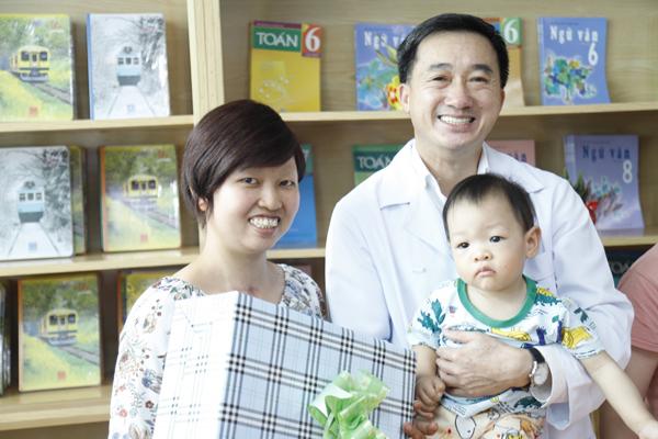 Mẹ con Bình An sau 1 năm thực hiện ca mổ ngồi bắt thai-2