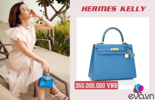 Giàu có như Hoàng Thuỳ Linh, bỏ hơn 500 đô mua chiếc túi chỉ đựng được một ít không khí-4