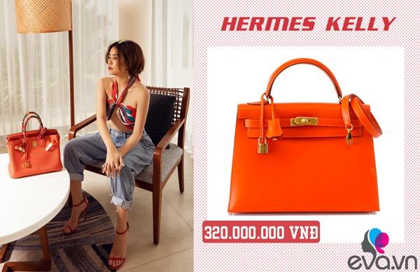 Giàu có như Hoàng Thuỳ Linh, bỏ hơn 500 đô mua chiếc túi chỉ đựng được một ít không khí-5