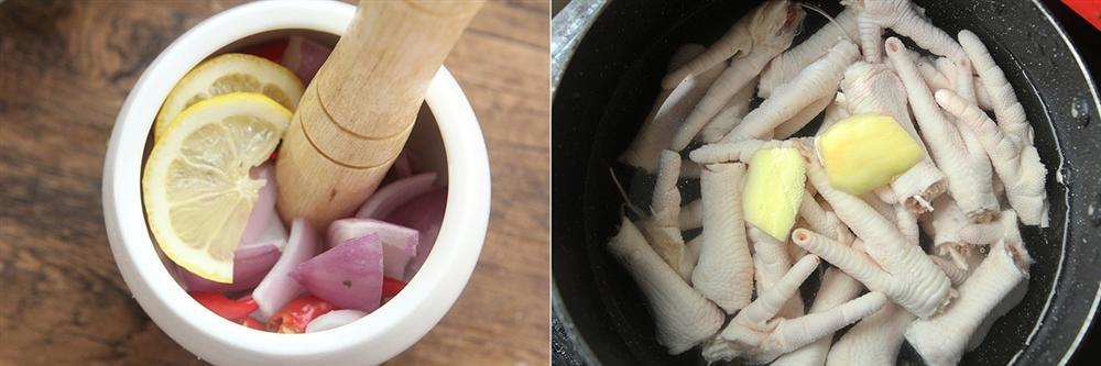Cần gì phải uống collagen, chị em cứ làm chân gà trộn chua ngọt thì ăn vừa ngon lại bổ sung dồi dào collagen cho cơ thể-2