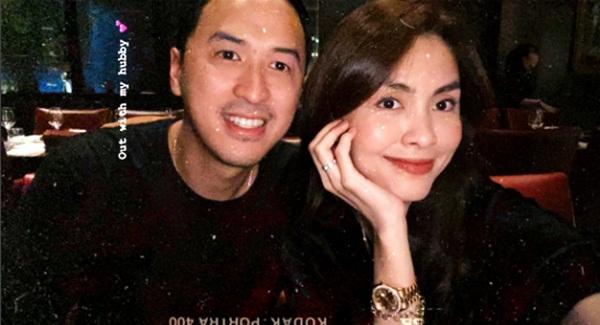 Vợ chồng Tăng Thanh Hà trốn con đi hẹn hò riêng nhưng ghen tị nhất vẫn là dòng trạng thái đánh dấu chủ quyền của người đẹp-3