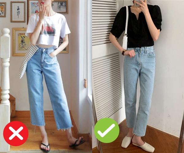 Mắc 4 sai lầm này khi diện quần jeans, chị em tự đưa mình vào top mặc xấu chốn công sở-2