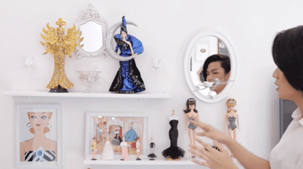 Nhà bạc tỉ của Đào Bá Lộc: Độc đáo nhất là bộ sưu tập búp bê trải từ phòng khách đến giường ngủ-4
