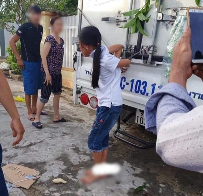 Bất ngờ nhân thân người buộc bé gái vào thùng xe tải vì nghi ăn trộm tiền-1