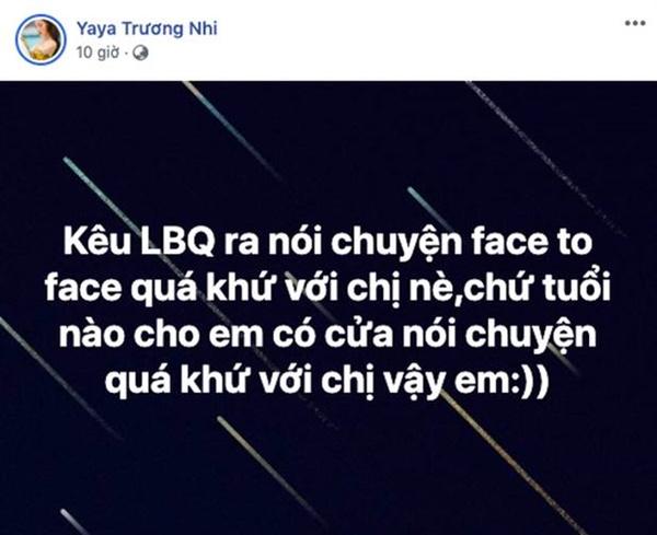 Bị Ngân 98 tố ngoại tình nhiều lần thời còn yêu Lương Bằng Quang, Yaya Trương Nhi đanh thép đáp trả-1