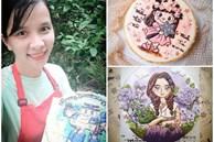 Làm bánh kem đẹp như tranh, mẹ Nha Trang vừa trông con vừa kiếm được tiền triệu