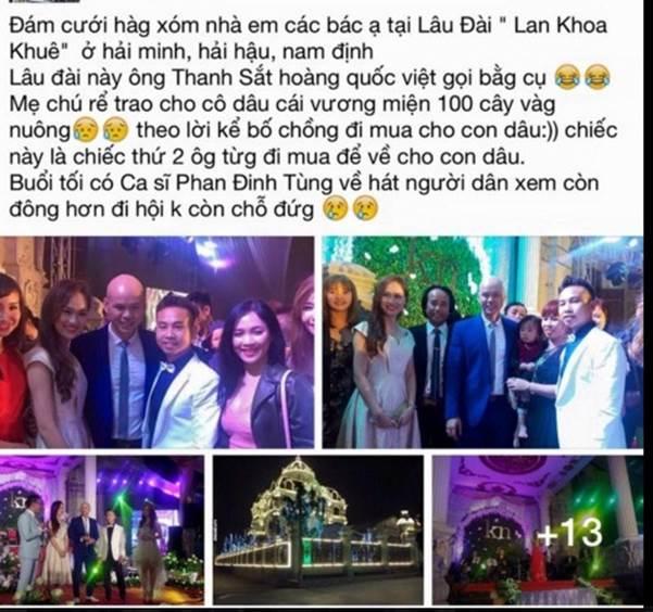Choáng váng trước tòa lâu đài xây gần 10 năm của triệu phú Nam Định, ngày cưới cô dâu nhận vương miện 100 cây vàng-15