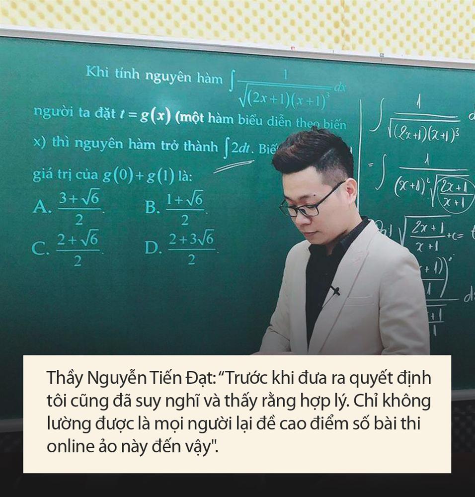 Thầy Toán bị tố giúp học sinh gian lận thi cử đưa ra lý do: Tôi sai với cộng đồng mạng nhưng đúng với học trò của mình-5