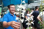 Chiêm ngưỡng những giỏ hoa lan đột biến hiếm có giá hàng trăm triệu