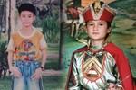 Phì cười với loạt ảnh các cầu thủ khi còn 'đủ tuổi' đón Tết thiếu nhi: Văn Lâm hóa nhà vua, Tiến Linh diện đồ cực ngầu