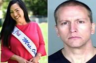Vợ hoa hậu ly hôn cựu cảnh sát ghì chết người da màu