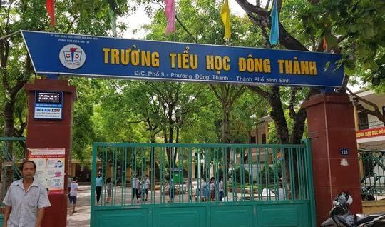 Ninh Bình: Khởi tố bắt giam Hiệu trưởng, Hiệu phó trường tiểu học bớt xén khẩu phần ăn của học sinh-1