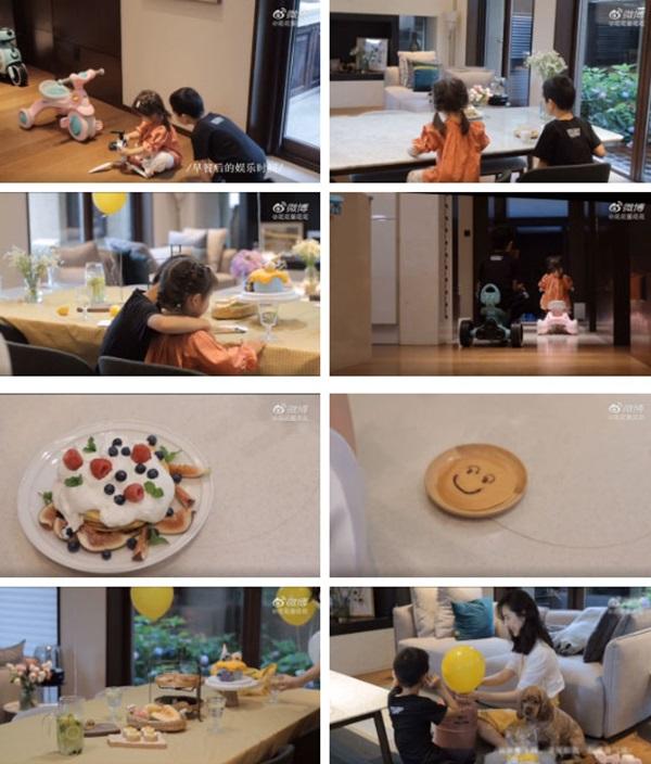 Vợ chủ tịch Taobao lần đầu tiên đưa cả 2 con vào vlog riêng và liên tục khoe nhẫn ở ngón áp út ẩn ý tình trạng của vợ chồng-3